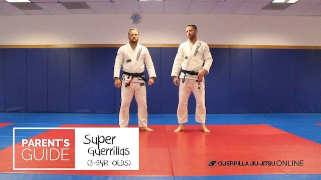 "Super Guerrilla Parent's Guide - Knee on Belly - ""Wiggle Monster Drill"""
