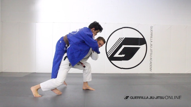 Judo: Cross Step Seoi-Otoshi