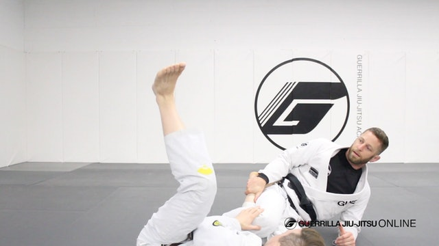 Reverse de la Riva Guard - Simple Sweeps Part 3 - Long Range