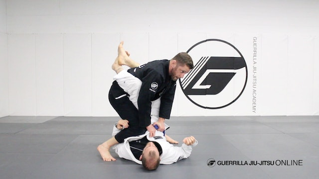 "Counter the Closed Guard Leg Trap Sweep - To ""Matrix"" Pass"