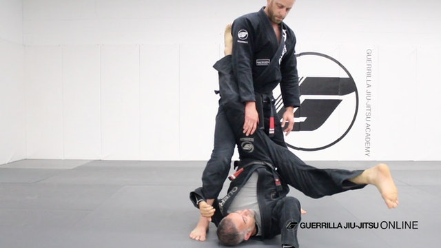 Closed Guard - Old School Back Roll Sweep from Leg Trap Sweep
