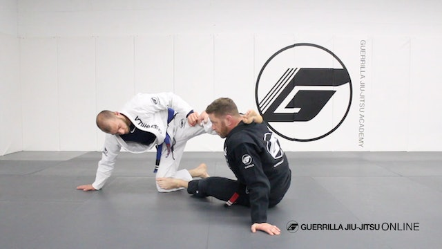 Mount Escape - X Guard Stand Up Sweep - Part 2