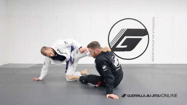 Mount Escape - X Guard Stand Up Sweep...