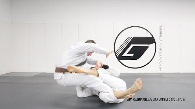 Reverse de la Riva Guard - Simple Swe...