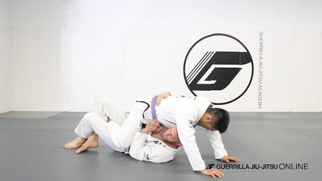 Mount Escape - Heel Scrape to Half Guard