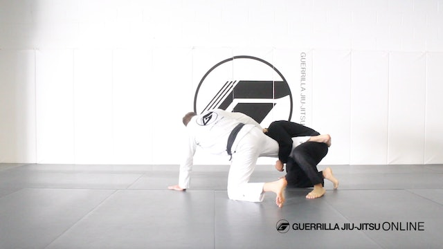 Counter the Single Leg to Omoplata Part 1 - The Setup and Bait