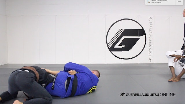 Omoplata Setup From Closed Guard Part 1 - Monoplata Clamp