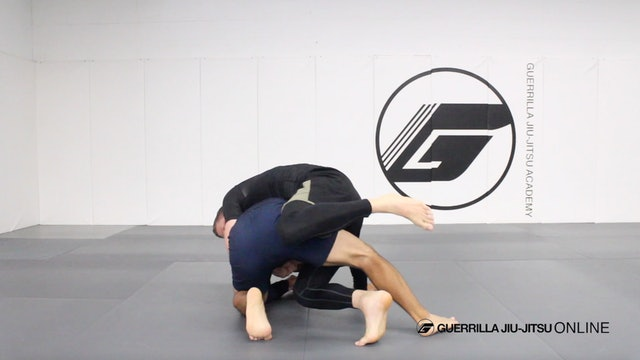 Long Step Connections Part 3 - Heel Scrape to Float Over Back Take