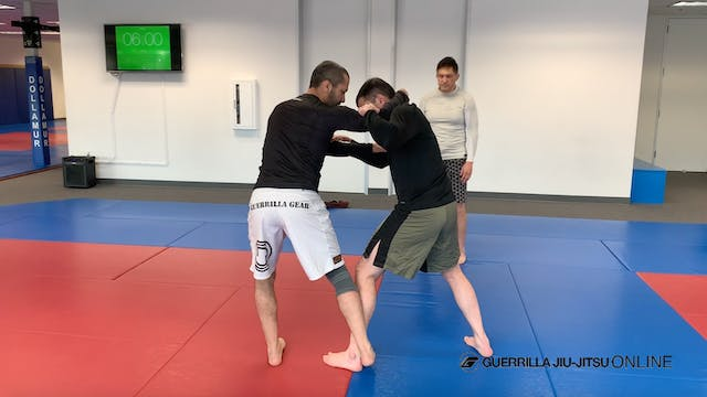 Sticky Foot Part 1 - Foot Sweep