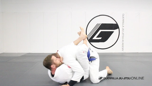 Quick Tip - Angle Punch Cross Choke Finish from Closed Guard