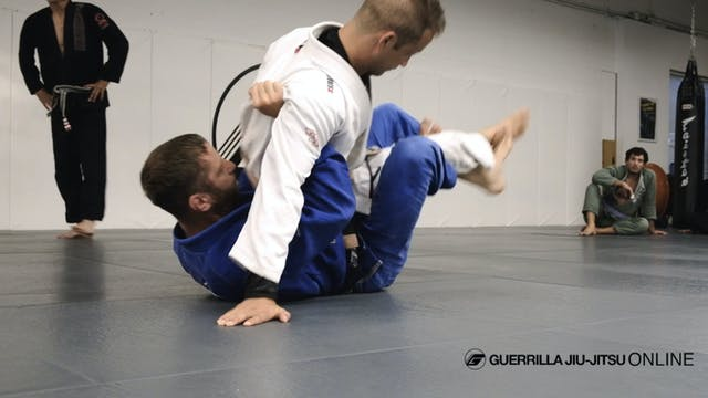 Half Guard - Countering The Back Step...