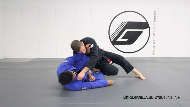 Half Guard Knee Shield Pass Part 1 - Knee Slice