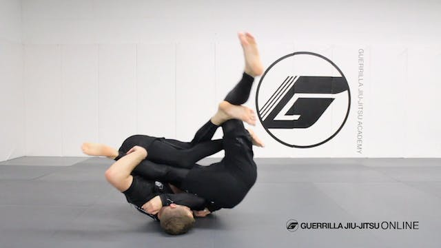 X-Guard - Back Roll Sweep