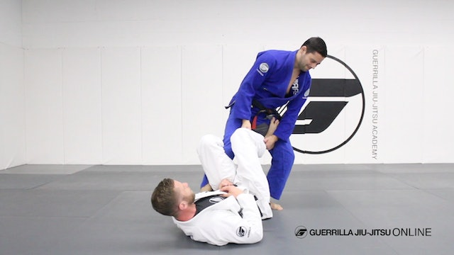 De la Riva Ankle Lock - Entrance from Reverse De la Riva