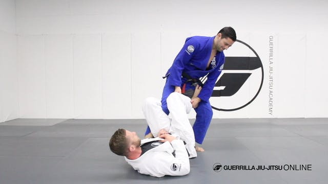 De la Riva Ankle Lock - Entrance from...