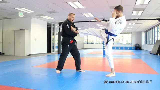 Counter the Front Kick with James Terry