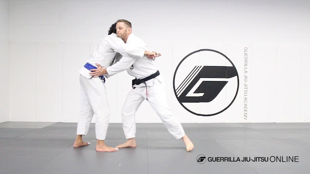 Simple Over Arms Body Lock Escape for...