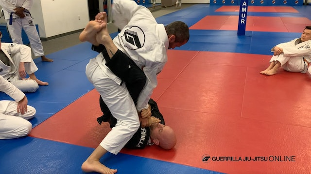 Tips For Striking From Top Closed Guard
