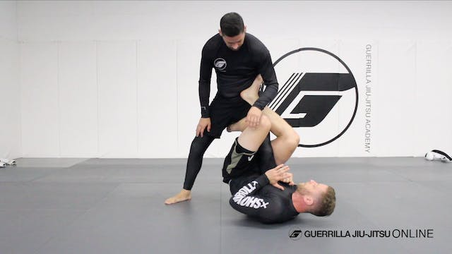 Single Leg X Sweep to Leg Drag Pass
