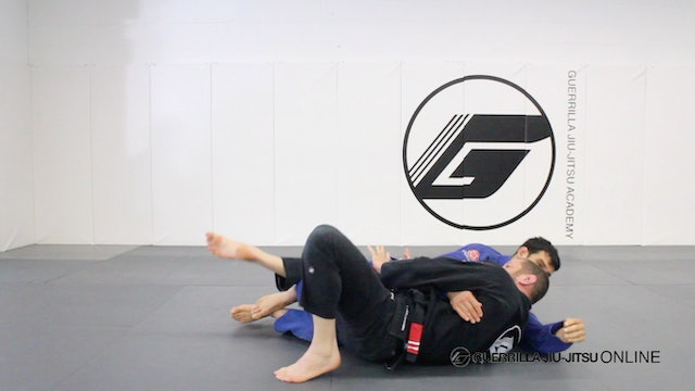 Basic Back Escape - Part 2 - Recover Half Guard