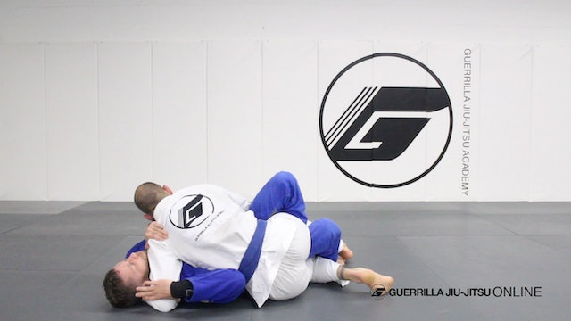 Half Guard - Counter the Right Pass Part 3 - Counter Sweep Head Control