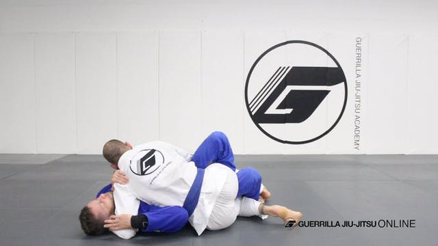 Half Guard - Counter the Right Pass P...