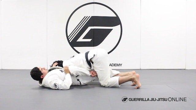 Removing the Knee Shield in Half Guard Part 2