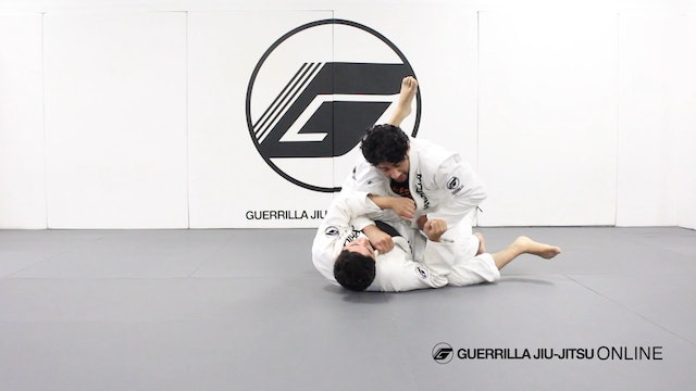 Knee Through the Middle Guard Break - Forcing Stack Pass