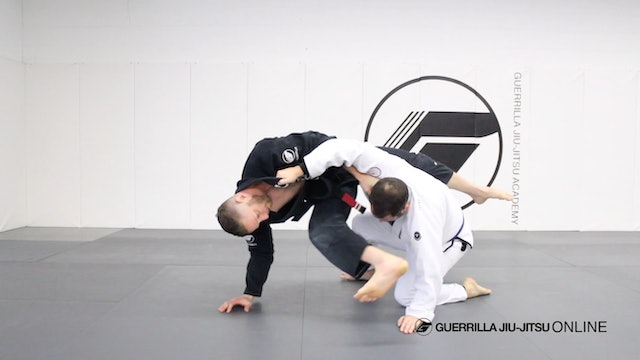 Flying Triangle from Knees.