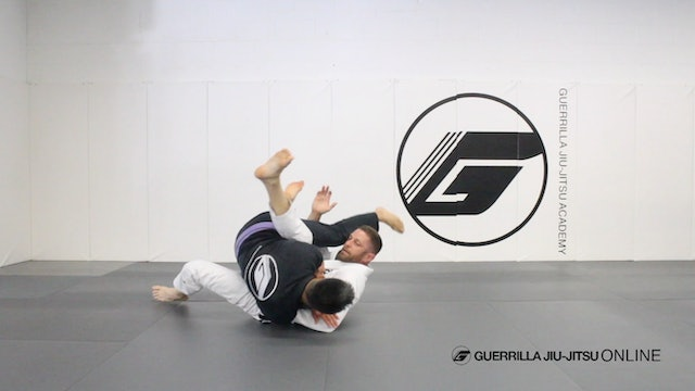 Basic Closed Guard Pull to Pendulum Sweep Part 2
