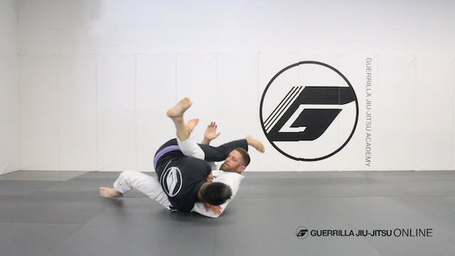 Basic Closed Guard Pull to Pendulum S...