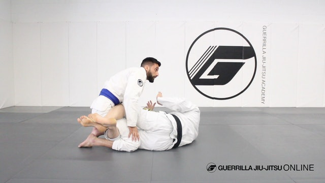 Half Guard: Hip Clamp Retention Details