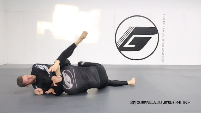 Closed Guard - Under Hook Control to Belly Flop Sweep Triangle