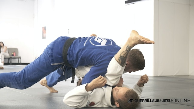 Stack Passing - fundamental and countering hand on the hip defense