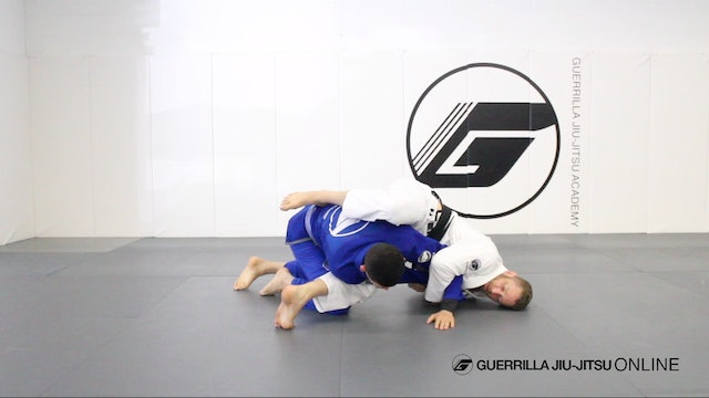Crash Sweep to Juji-Gatame Arm Lock