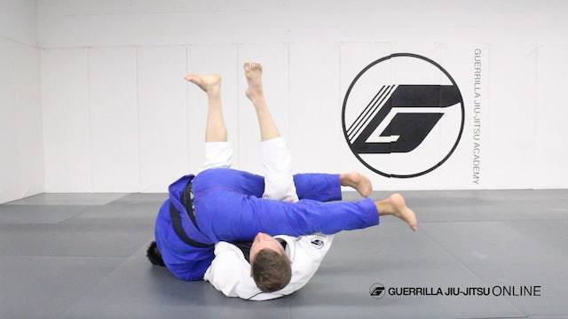 Shao Lin Sweep Part 1 - From Knee Shield Half Guard