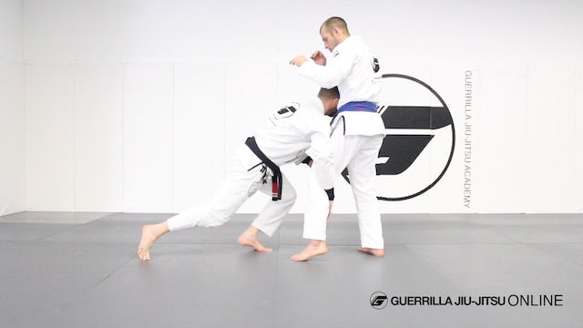 Level Change - Set Up Single Leg with Jab to Body Shot