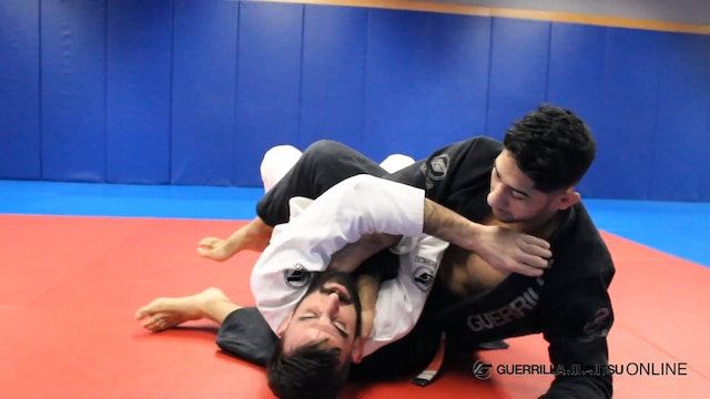 Escape from S Mount Armlock