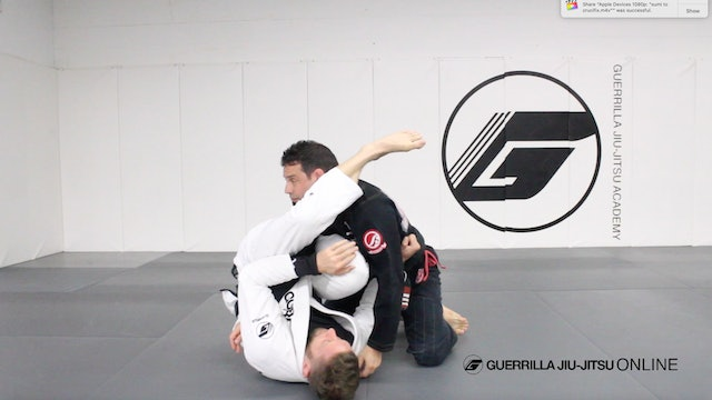 Armbar from Bottom Side Control