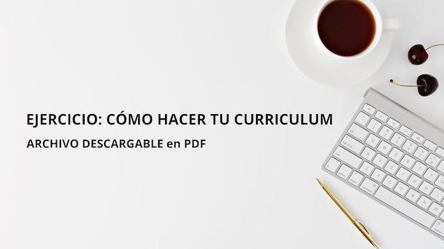 Cómo hacer tu CV - Episodio 6 - Club de Escritura Guillermo Morante.pdf