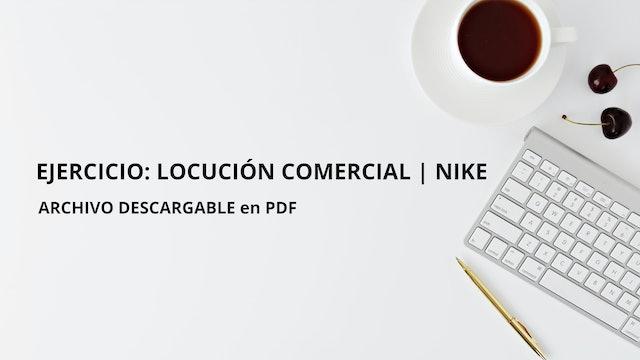 Triunfa con tu Voz - Ejercicio Episodio 3 - Locución Comercial Nike.pdf
