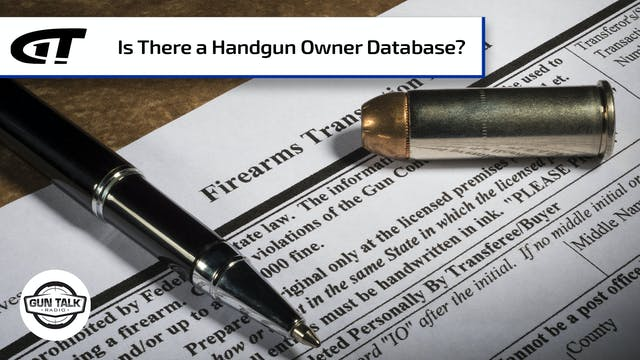 Will Buying a Handgun Put You on a Fe...