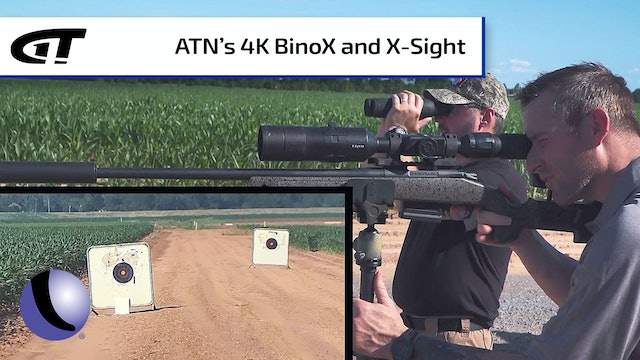 ATN's 4K BinoX and X-Sight for an Easy, Successful Hunt