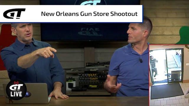 100+ Rounds Fired in Gun Range Shootout
