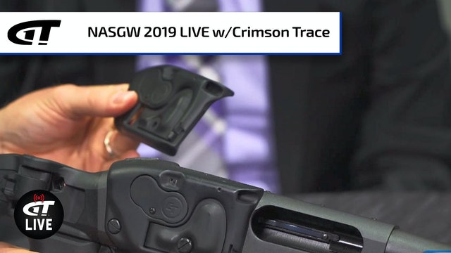 *NEW* Crimson Trace Laser Saddle for the Remington 870, Laser/Light Combos