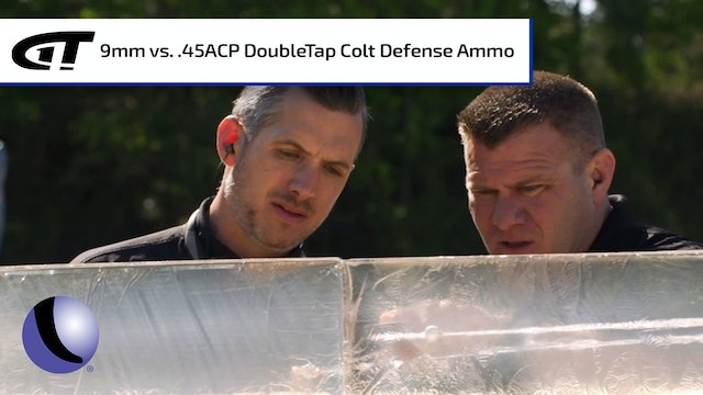 9mm vs .45 ACP - DoubleTap Colt Defense Ammo