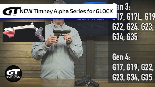 GLOCK Trigger Upgrade with Timney Alpha Series