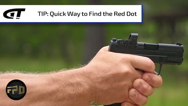 Easy Way to Find the Red Dot