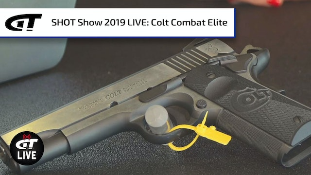 Colt's Combat Elite Government in .45