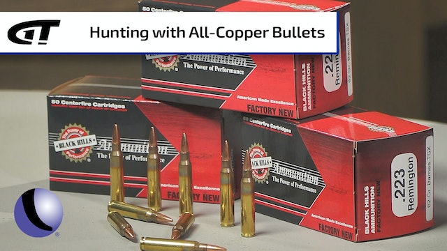 Black Hills Ammo Loaded with Barnes TSX Bullet